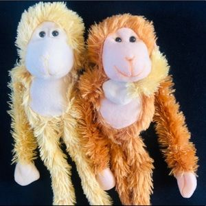 Cute little pair of  Hanging clingy Toy Monkey
